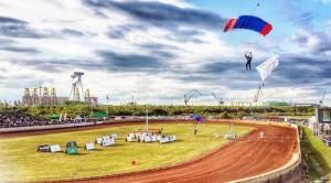 Paraglider lander