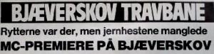 Bjæverskov overskrift
